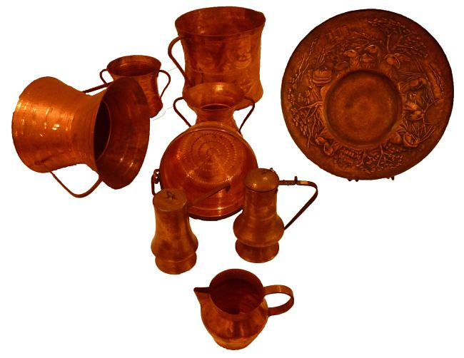 Cleaning copper regularly maintains the value of your copperware