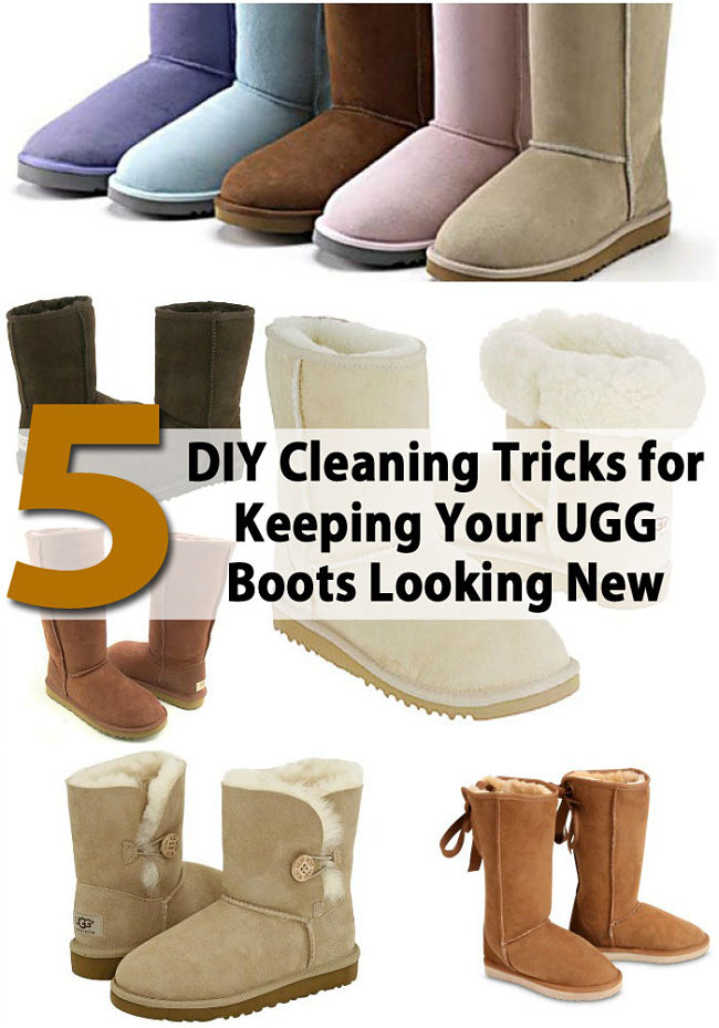 cleaning uggs at home