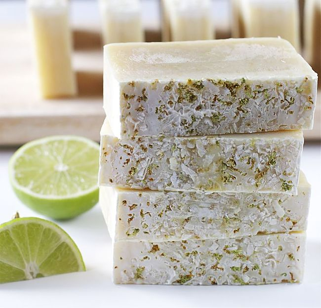 You can incorporate all sorts of things in the soap to add intrigue and charm