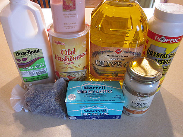 Homemade soap ingredients - learn how to make it here
