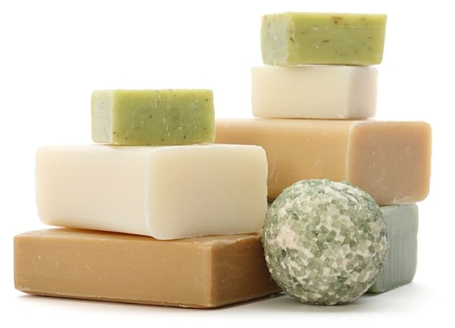Homemade soaps make wonderful gifts - learn how to make them here